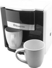 Капельная кофеварка Domotec MS-0706 с 2 чашками