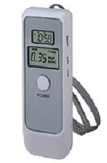 The digital breathalyzer with LCD for hours