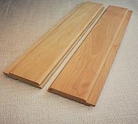 Вагонка ольха  высший сорт 80х15 мм для внутренней отделки домов, саун и бань