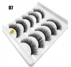 Materials for eyelashes lengthening