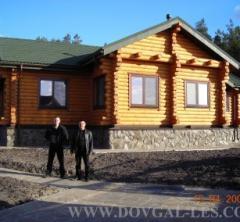 Деревянный дом,  бани строительство,...