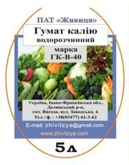 Biofertilizer - a potassium Humate