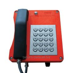 Explosion-proof industrial telephone set 4 FP 153