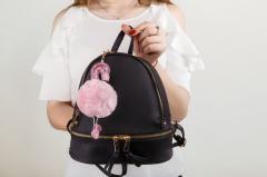 Женский городской рюкзак чёрный, Adleys FB201