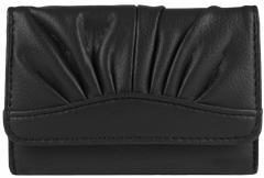 Красивый женский кошелёк чёрного цвета пр. Польша