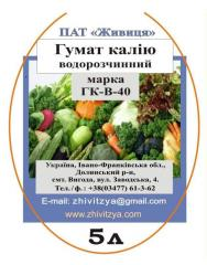 Fertilizer for sunflower of 5 liters