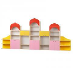 Стенка детская для игрушек Design Service Сказка