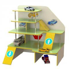Стенка детская игровая Design Service Паркинг