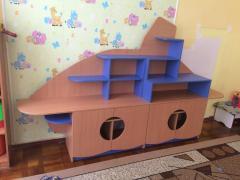 Детская игровая стена для игрушек Design Service