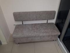Офисный диван с коробом Mebeldkdom 1200*500*800h