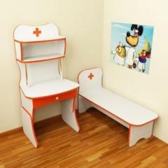 Детская игровая стенка Design Service Больница