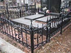 Заказ ограды для кладбища