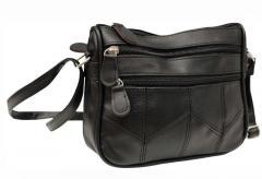 Женская сумка-мессенджер с регулируемым плечевым
