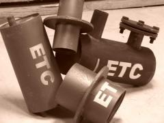 Spare parts for the boiler equipment - a tee