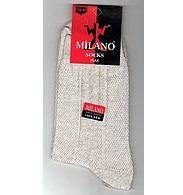 Носки чоловічі Milano 100% ЛЬОН із сіткою