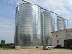 Silo for grain power