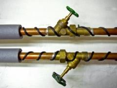 Cable for heating of the HK-2,5-F pipelines