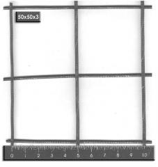 Сетка кладочная 50х50х3 (2х0,25) из стальной проволоки для армирования ЖБК ВР-1
