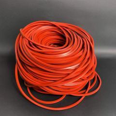 Силиконовый шнур квадратного сечения, 4х4 мм