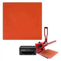 Силиконовый коврик для планшетного термопресса 380х500х4 мм