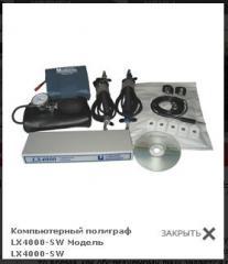 Комп'ютерний поліграф LX4000-SW (детектор