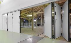 Folding gate, industrial gate, gate
