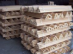 Shanks wooden from the producer under the order
