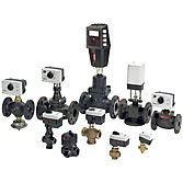 Balancing valves Danfoss, TA Hydronics, Ballorex