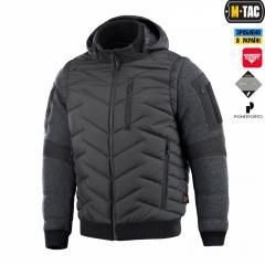 M-Tac куртка-жилет Konung Black Grey