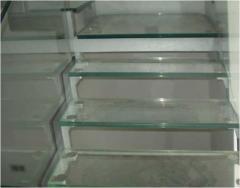 Перила стеклянные,  лестницы стеклянные,...