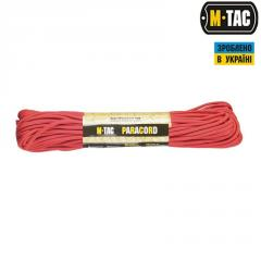 M-Tac паракорд 550 type III Red 30м