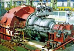 Spare parts for the turbines K-200, K-300, etc.
