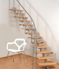 Modular staircase ATRIUM DIXI