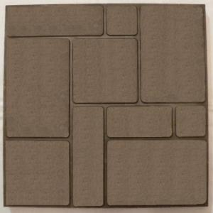 Polimerpeschany paving slabs brown