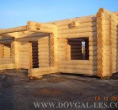 Дома из оцилиндрованного бревна,  постройки,...