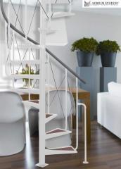 The ATRIUM stairs: winding