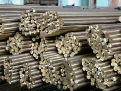 Bar bronze BrOTsS3-12-5, f40mm