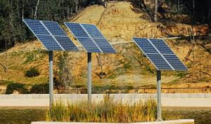 Solar photo-electric systems, solar batteries,