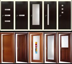 Двери межкомнатные с двусторонним «лицом», полотна