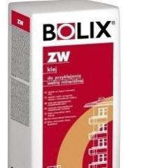 Glue for gluing of Bolix ZW mineral wool