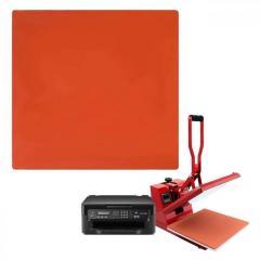 Силиконовый коврик для планшетного термопресса 380х380х8 мм
