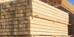 Брус профилированный деревянный