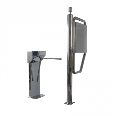 Alpine skiing turnstile of SKILINE