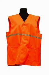 The vest is alarm, coarse calic