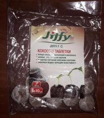 Кокосовые таблетки Jiffy -7С, d 30 мм (10шт)