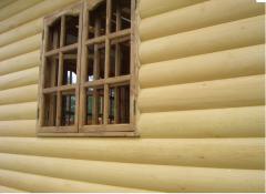 Block house pine