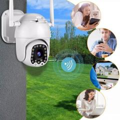 1080P наружная PTZ IP камера с автоматическим отслеживанием 2MP облачная Домашняя безопасность Wifi камера 4X цифровой