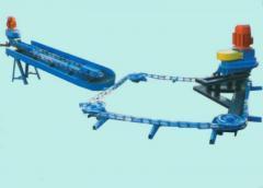 Навозоуборочные транспортёры КСГ-4 ; ТСН-2Б