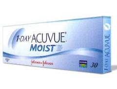 Accuvue Moist one-day contact lens