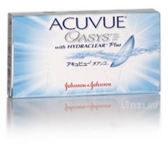 Contact lens of Accuvue Oasys
